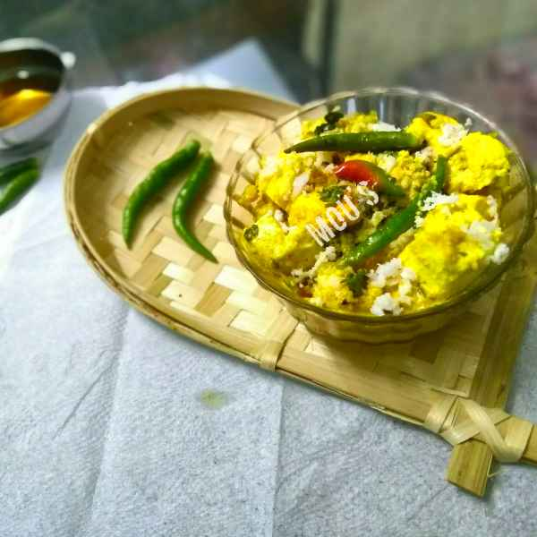 How to make Paneer Bhapa(Steamed cottage cheese)