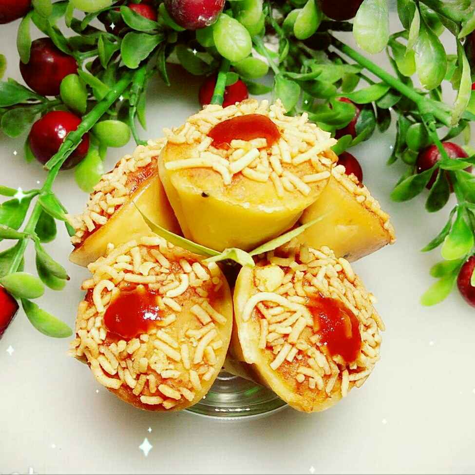 Photo of Veggie cone....... by Mousumi Mandal at BetterButter