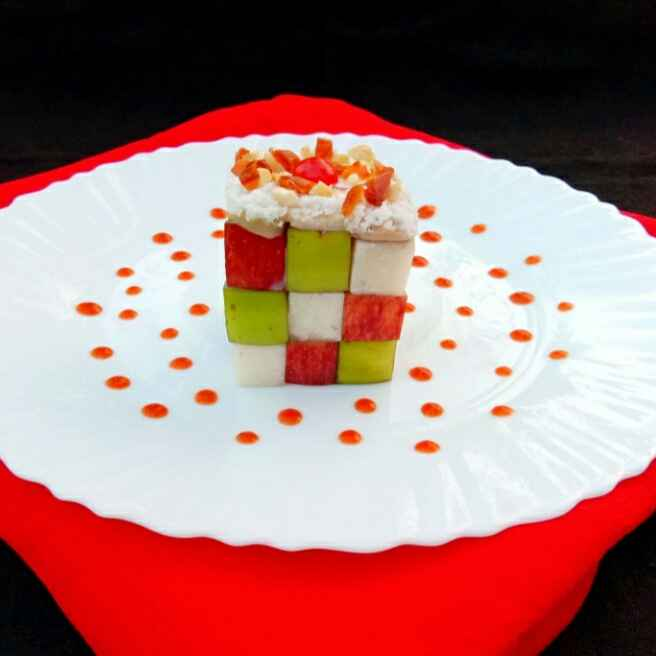 Photo of Cube Summer Salad..... by Mousumi Mandal at BetterButter
