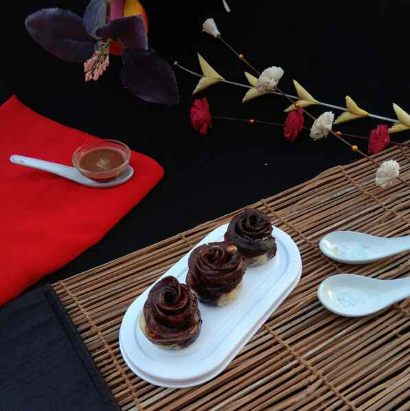 Photo of Chocolate Rose Momo.... by Mousumi Mandal at BetterButter