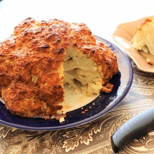 How to make Whole Roasted Cauliflower (Gobi) Tikka Masala