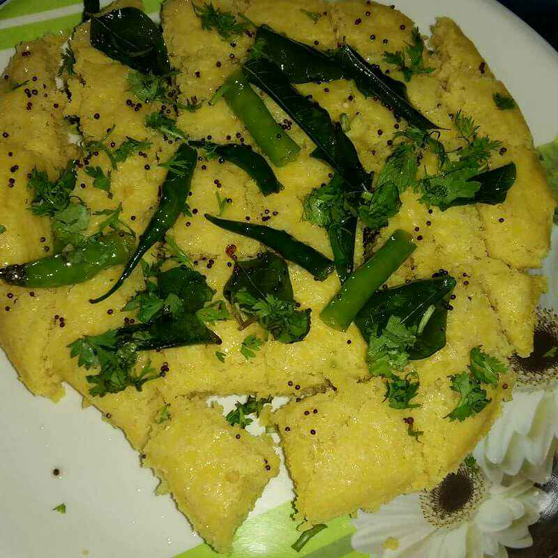 Photo of Instant dhokla by Mrudula Ghose at BetterButter