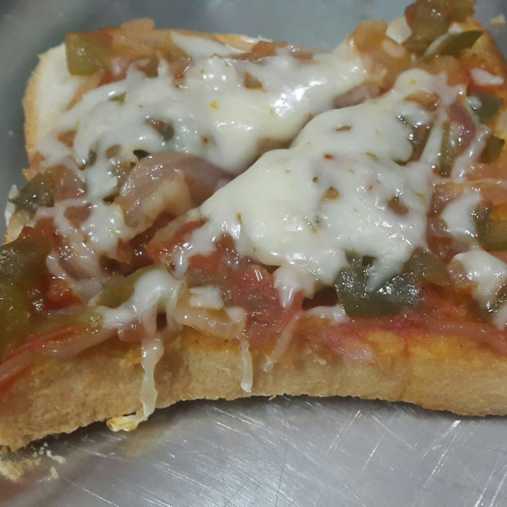 Photo of Bread Pizza by Mudita Bagla at BetterButter