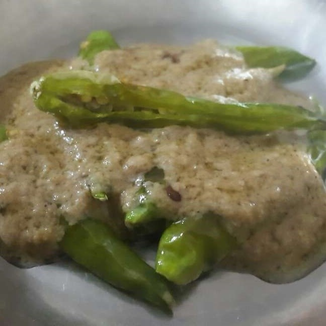 Photo of Green Chilli Salan by Mudita Bagla at BetterButter