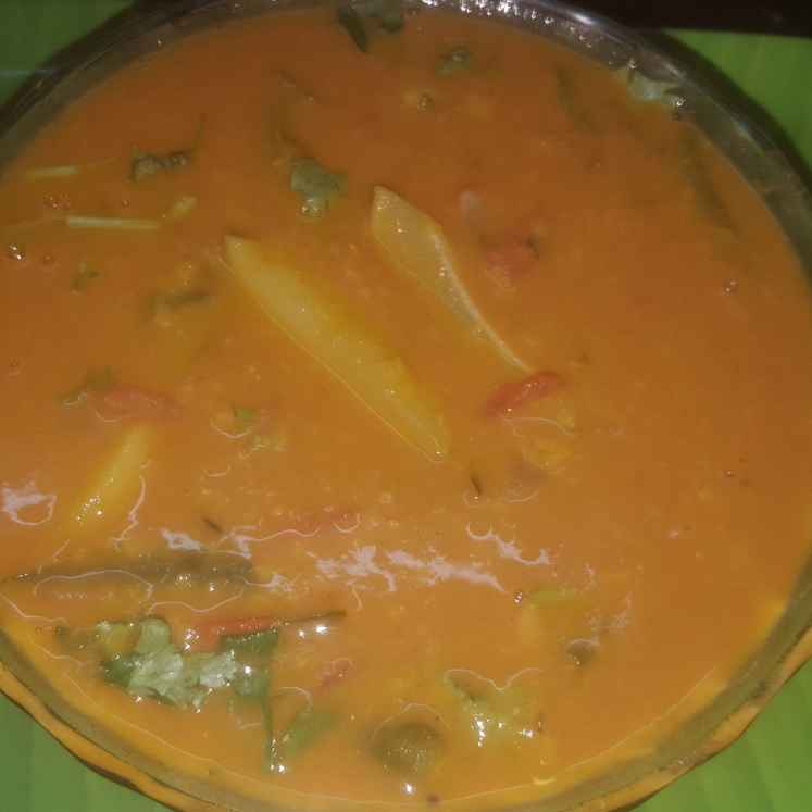 How to make Potato Sambar