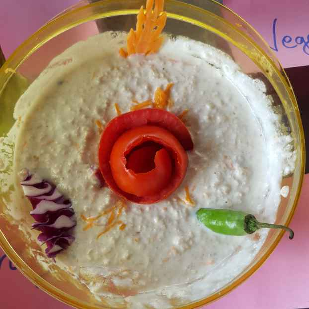 How to make Oats Curd Rice
