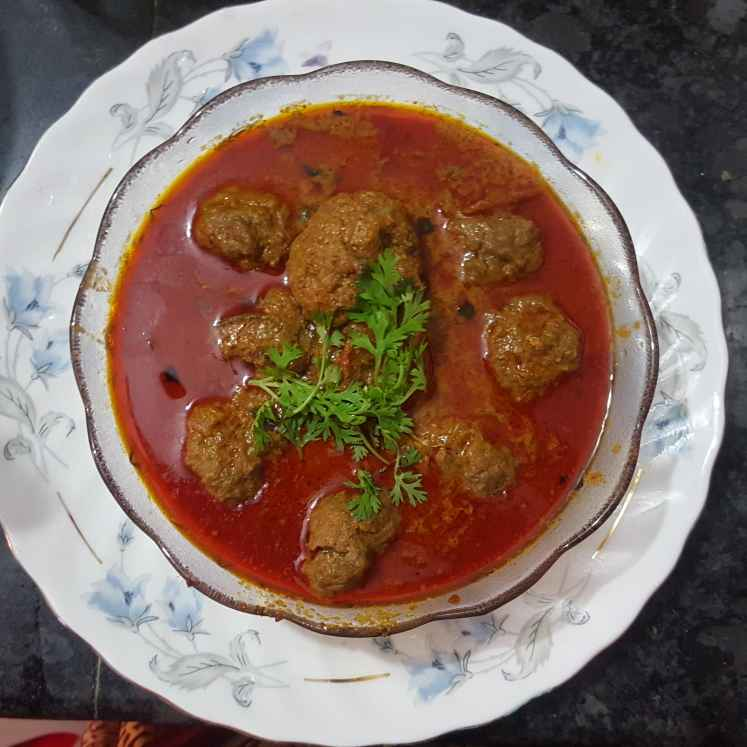 How to make Malai meat kofta curry