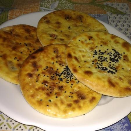 How to make KASHMIRI NAAN