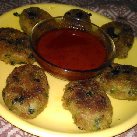 How to make VEG KABAB WITH CHILLY GARLIC AND HONEY SAUCE