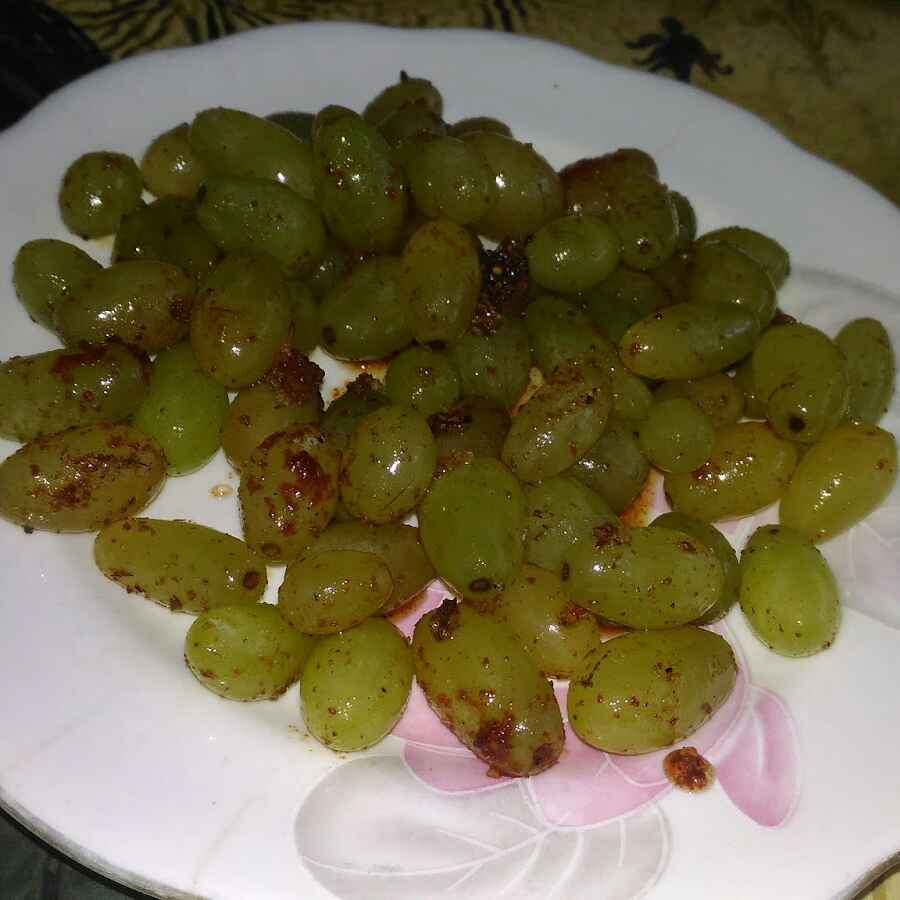 How to make Grapes Chaat