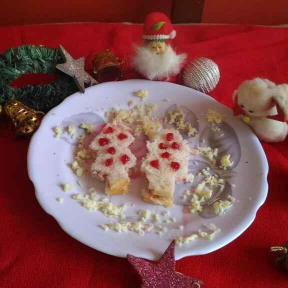 How to make CHRISTMAS TREE SANDWICH