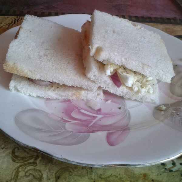 How to make Cheese and egg sandwich