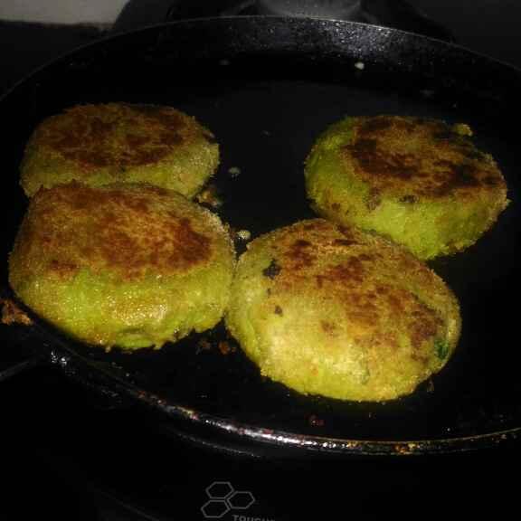 How to make Oats tikki burger
