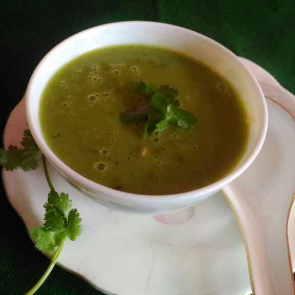 How to make Green peas soup