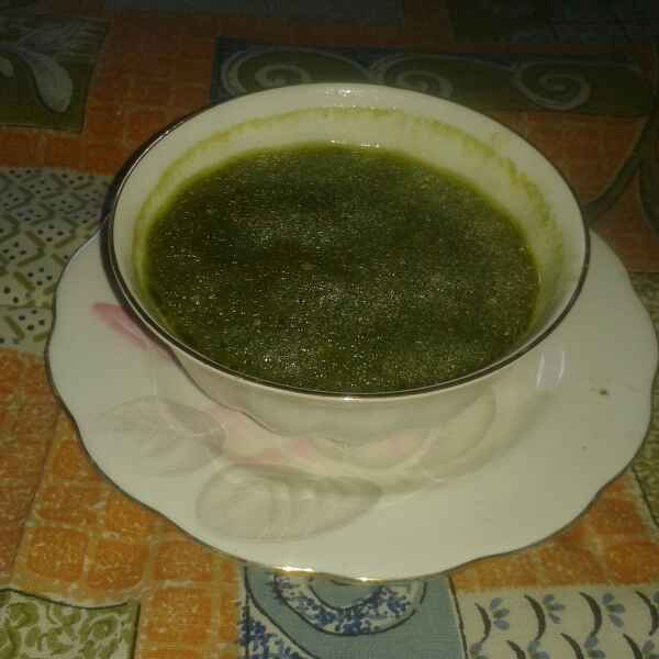 How to make Spinach and curd soup