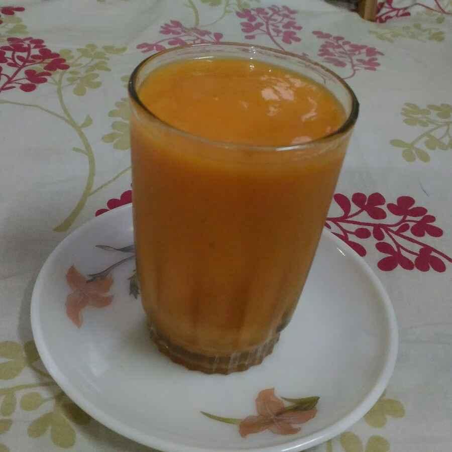 How to make Papaya banana smoothie