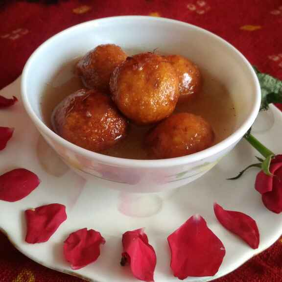 How to make Curd gulabjamun