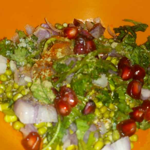 Photo of GREEN MOONG SPROUT SALAD SALAD by Mukti Sahay at BetterButter