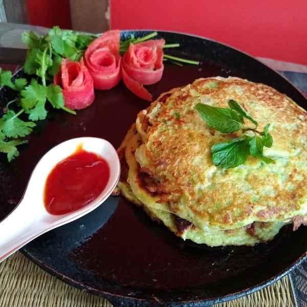 Photo of Zucchini pan cake by Mukti Sahay at BetterButter