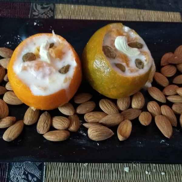 How to make Orange kheer