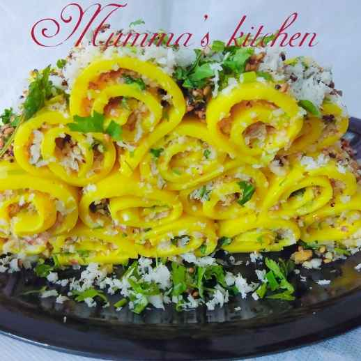 Photo of Stuff khandvi by Mumma's kitchen at BetterButter