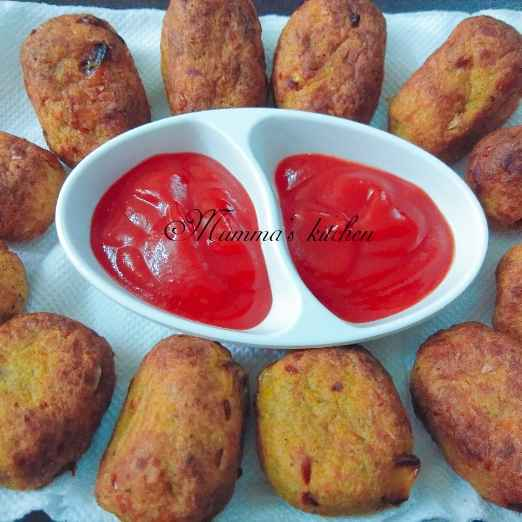 Photo of American  baked Corn nuggets by Mumma's kitchen at BetterButter