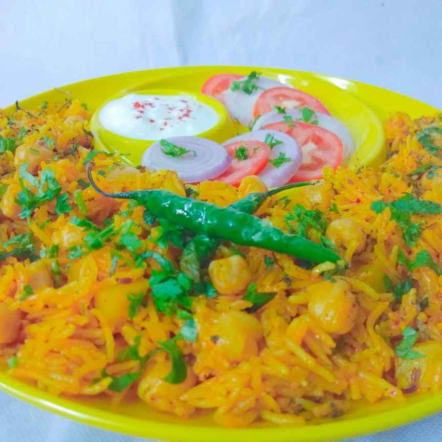 Photo of Chole pulav by Mumma's kitchen at BetterButter