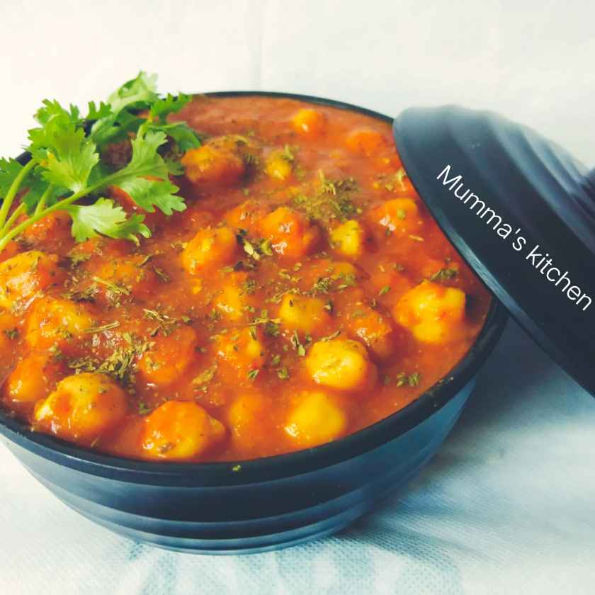 Photo of Oil free chole by Mumma's kitchen at BetterButter