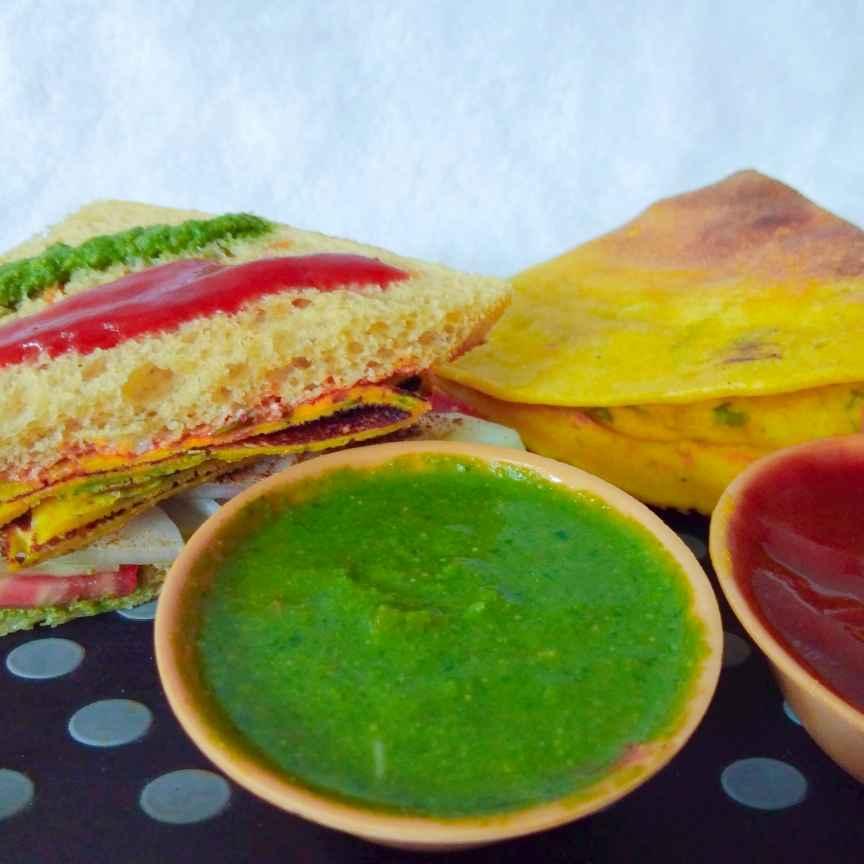Photo of Mumbai faimous vada sandwich and pudla sandwich by Mumma's kitchen at BetterButter