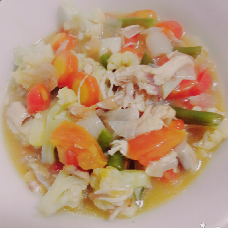 How to make Chicken with Mixed Vegetables