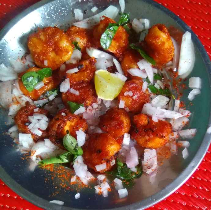How to make இறால் 65