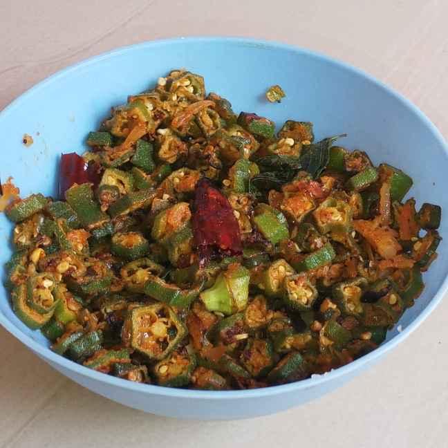 Photo of Bhindi Stir Fry by Munsila Fathima at BetterButter