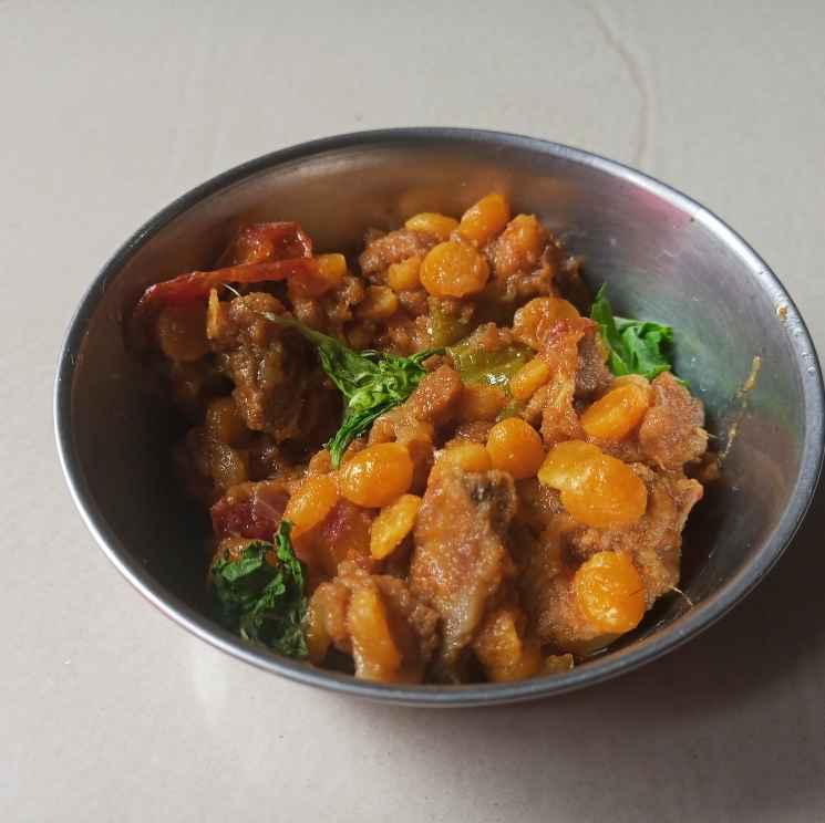 Photo of Mutton keema with bengal gram by Munsila Fathima at BetterButter