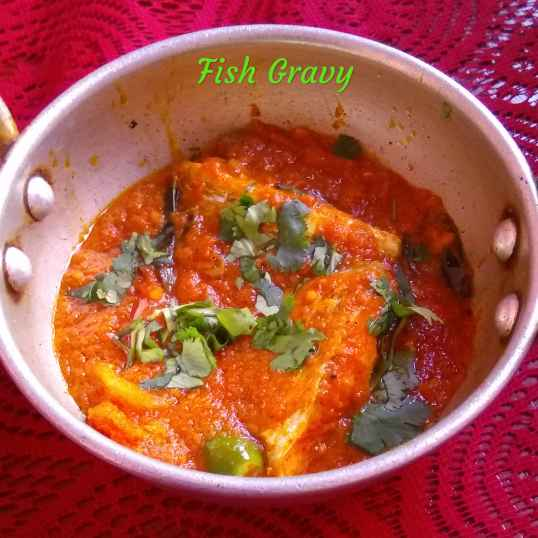 Photo of FISH GRAVY by Munsila Fathima at BetterButter