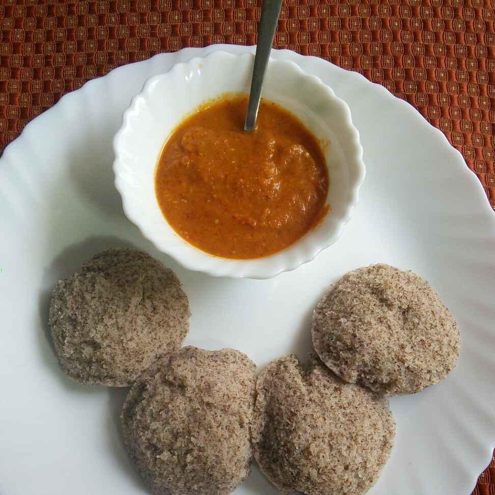 How to make Ragi (Finger millet) Idly