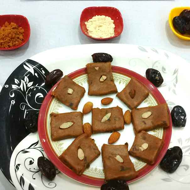 How to make Dates And Foxtail Millet Flour Peda