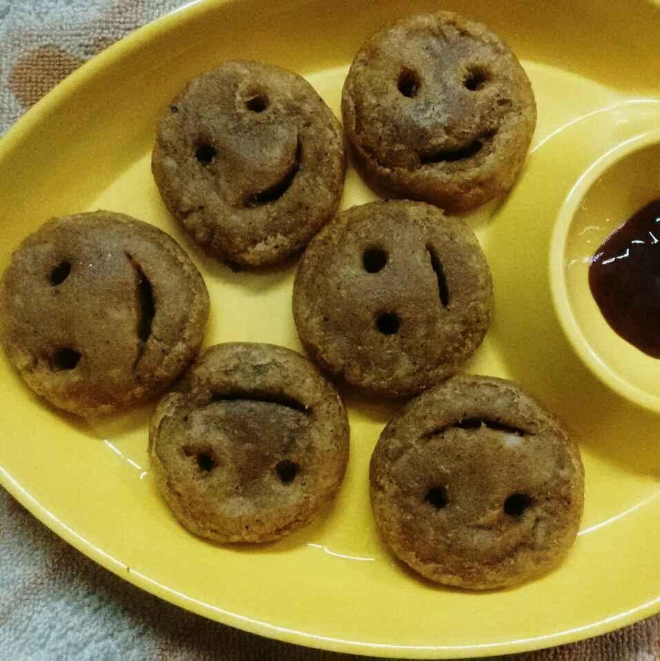 Photo of Sweet potato smileys by Muthulakshmi Madhavakrishnan at BetterButter