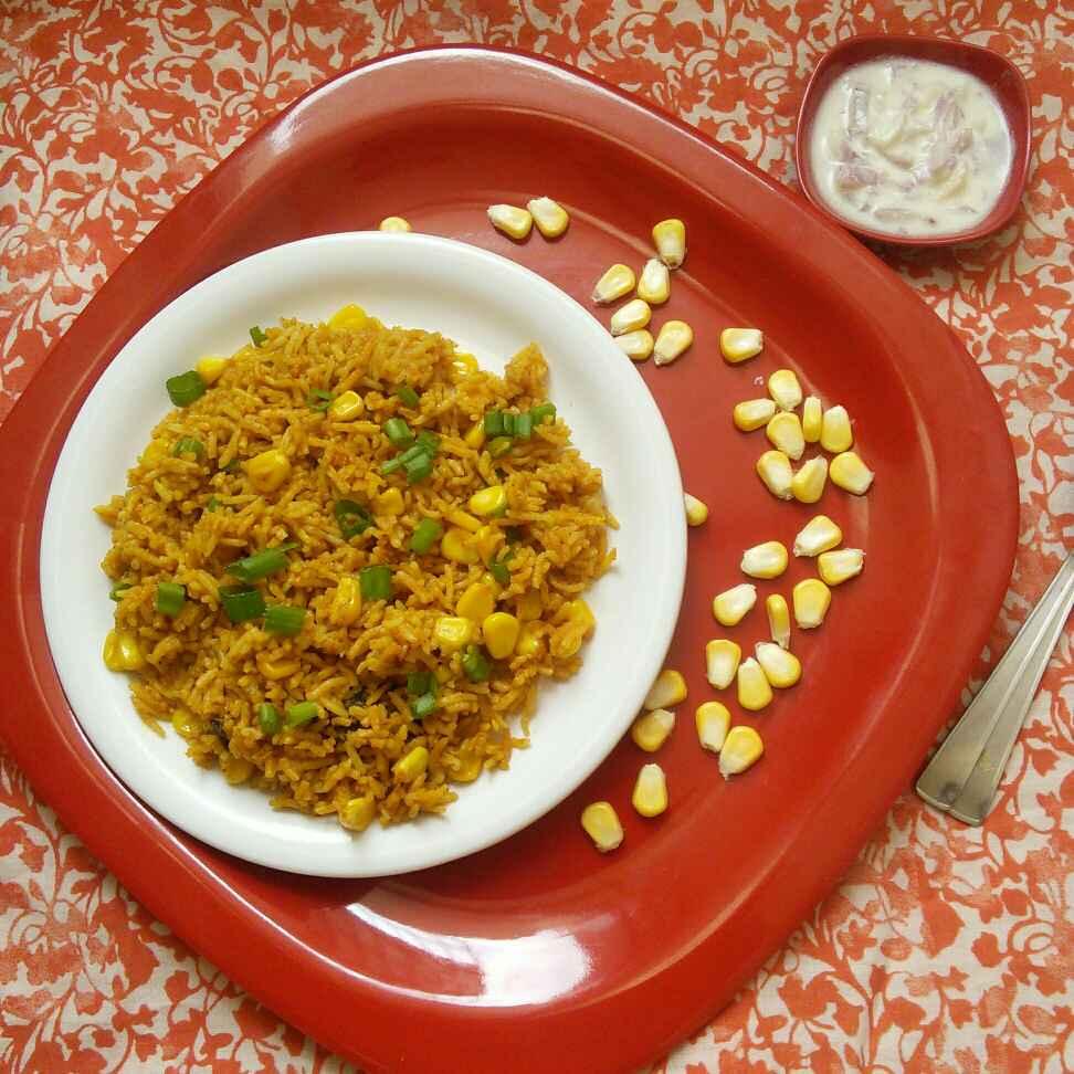 Photo of Corn Pulav by Muthulakshmi Madhavakrishnan at BetterButter
