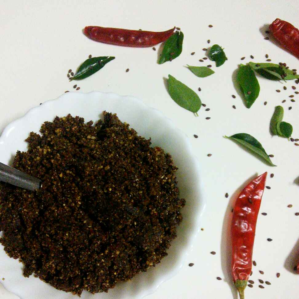 Photo of Black sesame seeds idly podi by Muthulakshmi Madhavakrishnan at BetterButter