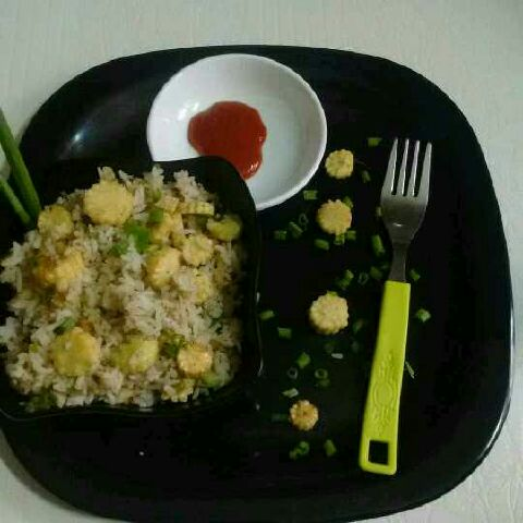 How to make Baby Corn Fried Rice