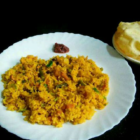 How to make Mixed vegetables and dal rice