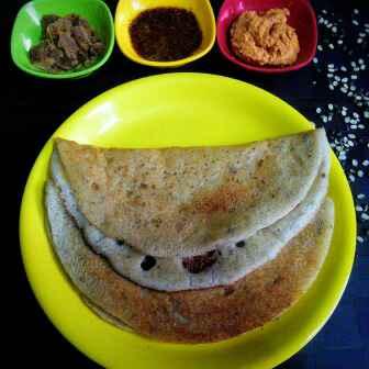 Photo of Black urid dal dosa by Muthulakshmi Madhavakrishnan at BetterButter