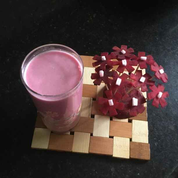 Photo of Beetroot Coconut Milk Juice by Muthulakshmi Madhavakrishnan at BetterButter