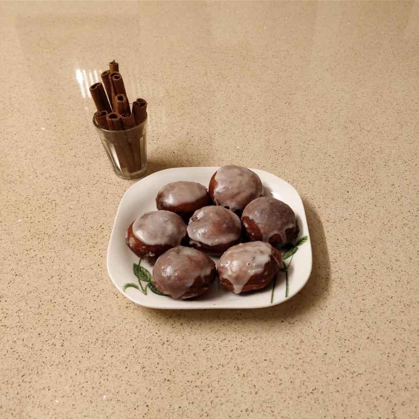Photo of Choco cinnamon donuts by nadha sajid at BetterButter