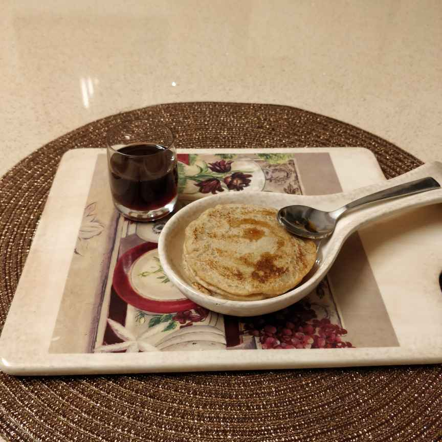 How to make Oats and jaggery pancake