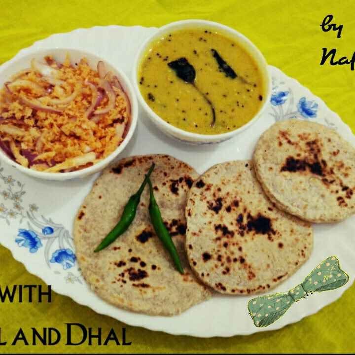 Photo of Poll rotti with poll sambol by Nafeesa Buhary at BetterButter