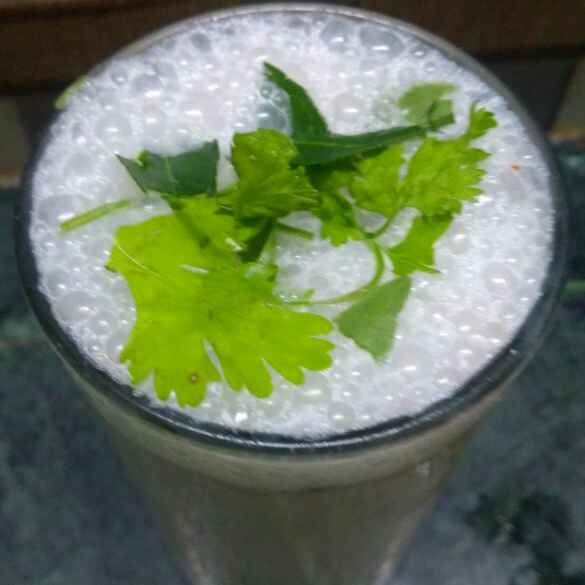 How to make Curry leaves butter milk