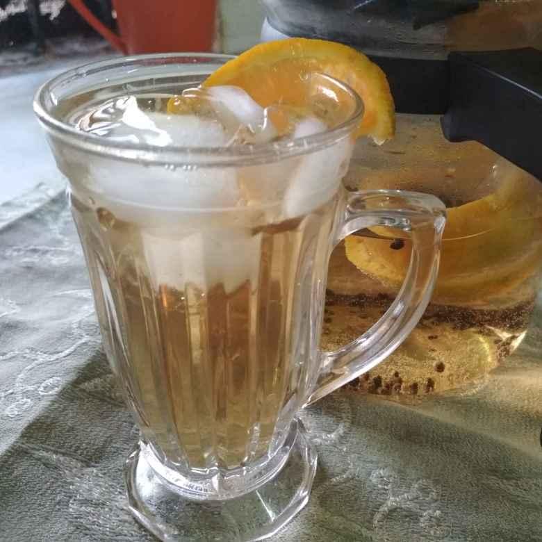 How to make Ice tea with orange flavour