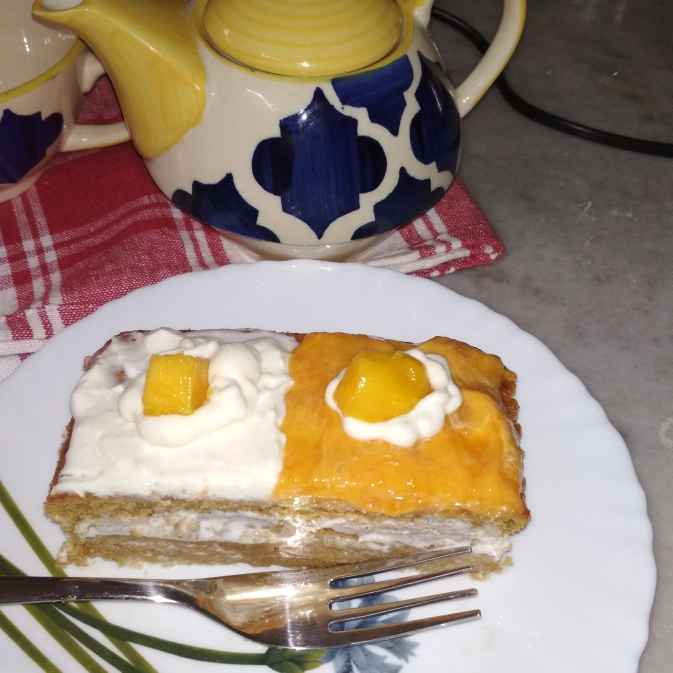 How to make Mango Pastry.