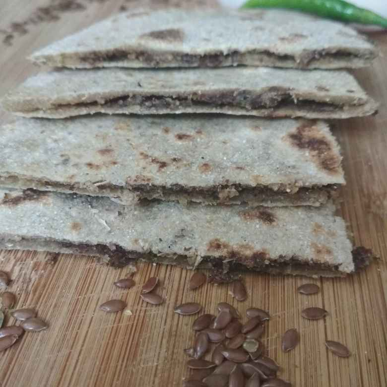 How to make Flax seed parathe.
